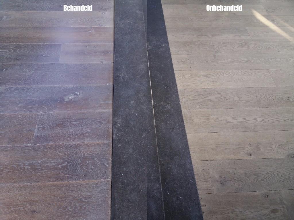 Onbehandelde Houten Vloer : Renovatie eiken vloeren parket schuren parketvloeren houten