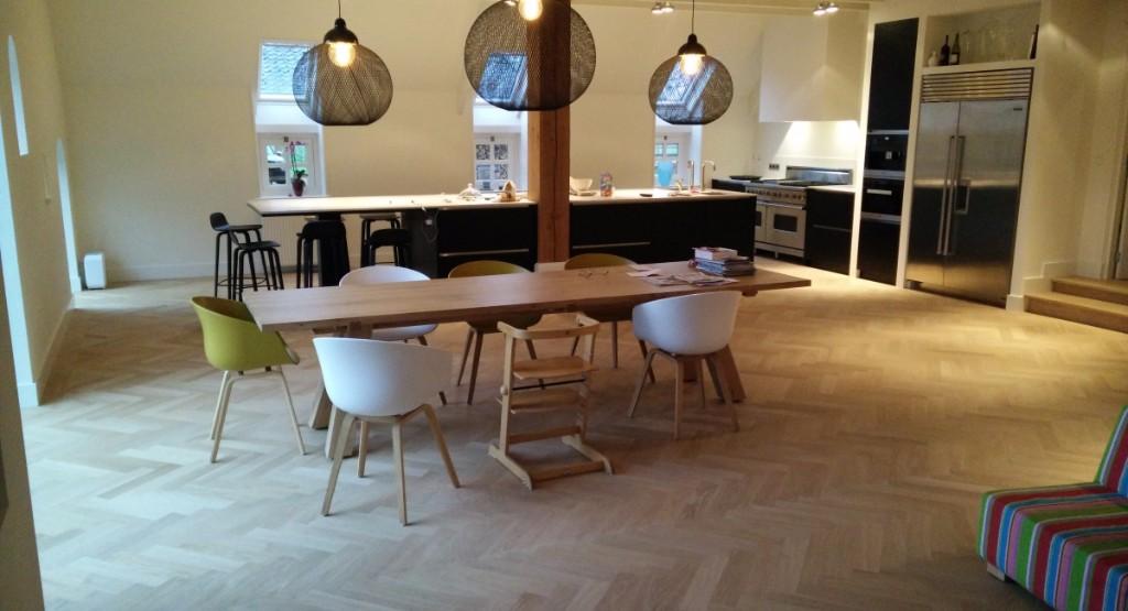 Visgraat Vloer Eiken : Traditionele parketvloeren trendloos! parketvloeren houten